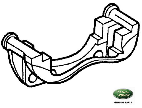 CARRIER REAR CALIPER MOUNT P38A R/R & DISCOVERY II