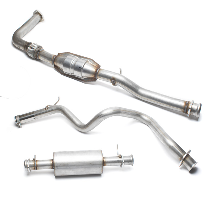 STAINLESS STEEL  EXHAUST SYSTEM 300Tdi DEF 90