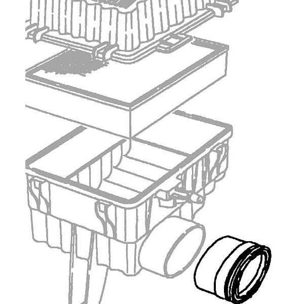 Seal Air Box Throttle Body P38a Esr3123 Rne039 Rovers North
