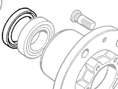 HUB SEAL 12mm EARLY DEFENDER & RRC