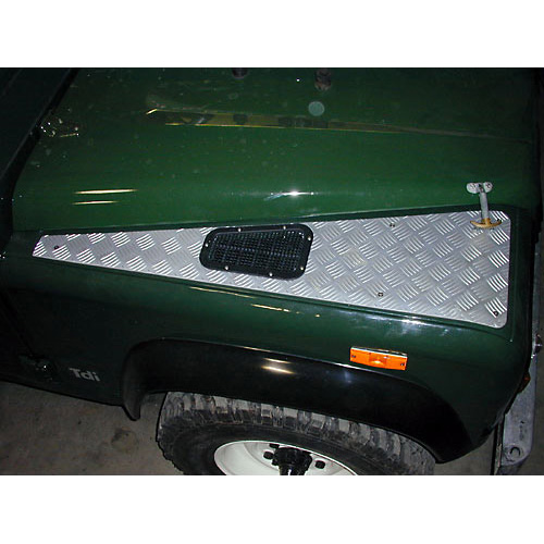 Protector Plate Wing Top Defender 90 110 Rnf369 Stc7693