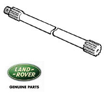 Genuine Axle Shaft - Left Rear 24 Spline. Defender, Range Rover Classic and Discovery 1