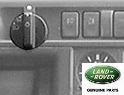 ROTARY SWITCH - LIGHTS P38A TO WA410481