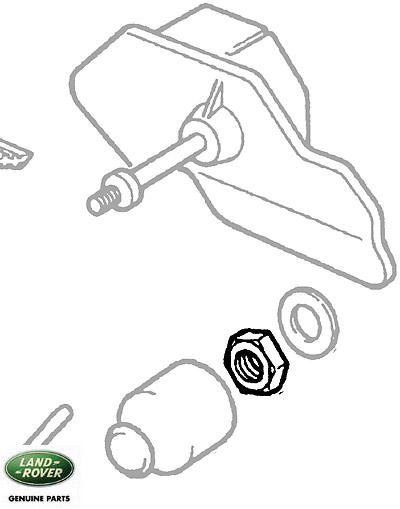 NUT - HEADLAMP & WIPER MOTOR 4.0/4.6