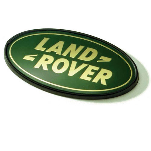 GRILLE BADGE GOLD/GREEN P38A RANGE ROVER DISCOVERY I & II