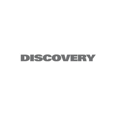 """DECAL """"DISCOVERY"""" REAR DOOR DISCOVERY II GREY"""