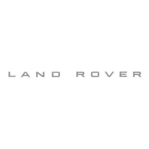 "DECAL - SILVER ""LAND ROVER"" DISCOVERY II BONNET"