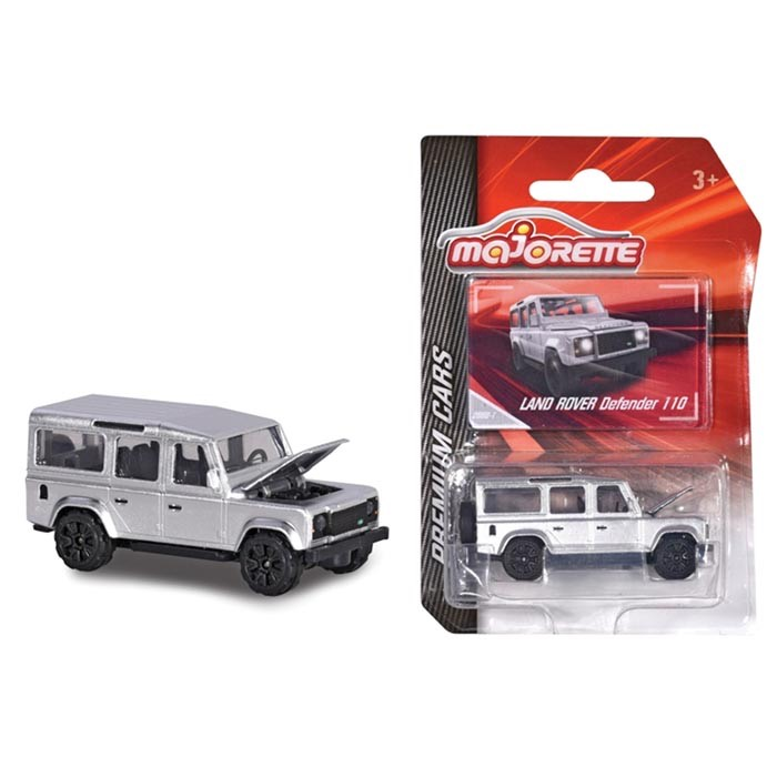 MAJORETTE 1:64 MODEL DEFENDER 110 GREY