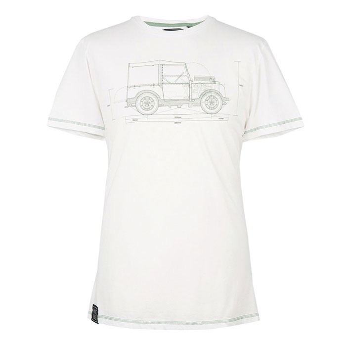 HUE GRAPHIC T- SHIRT - WHITE - MD