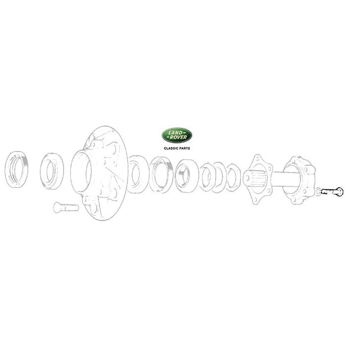 BOLT - DRIVE FLANGE R/RVR