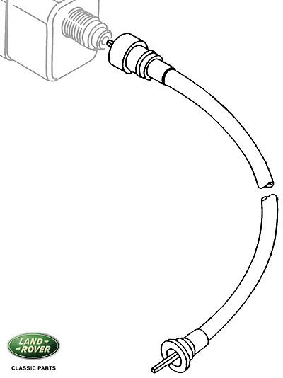 SPEEDO CABLE - LOWER RANGE ROVER