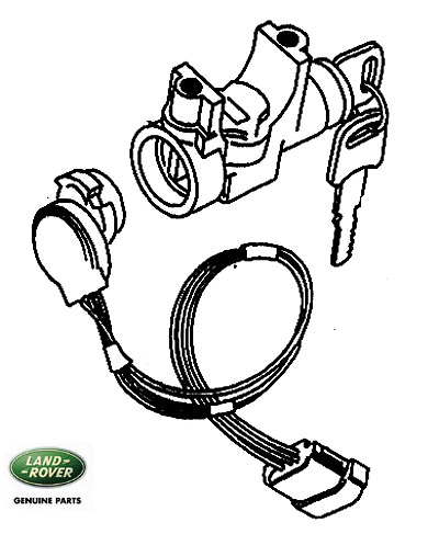 Lock Steering Column Rr Clc 1993 94 Rovers North