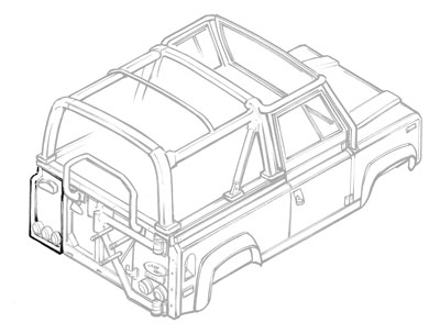 land rover defender 90 sale with Productdesc on 1992 Buick Century Hydraulic Fan Pump Removal likewise Ff part in addition ABS pump relays and fuses PRC9603 additionally DEFENDER STEERING GUARD 8 13 also Ff part.