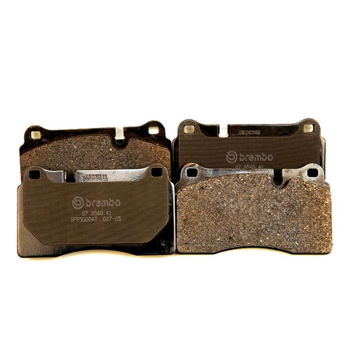 BRAKE PAD SET FRONT AXLE L322 & R/R SPORT 4.2L