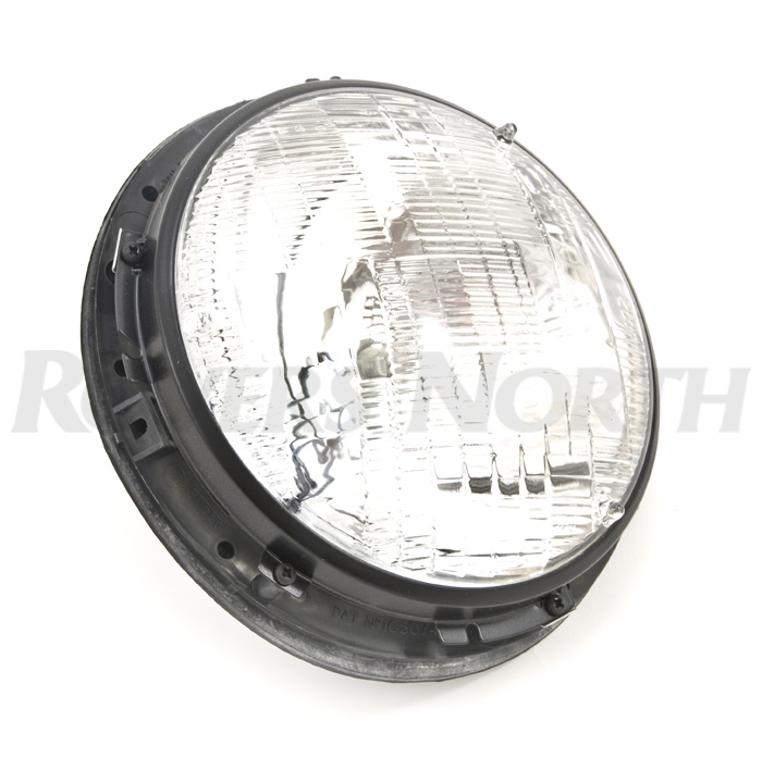 "HEADLAMP ASSY 7"" ROUND LHD SEALED BEAM"