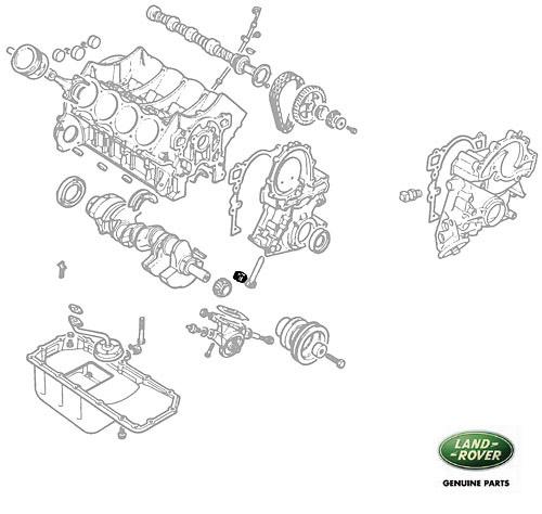 idler gear oil pump v8  rnm040  614037