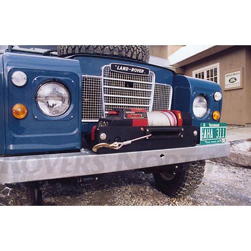 Land Rover Lr4 Winch: WINCH PLATE HUSKY8 SERIES II, IIA AND II, RNW013