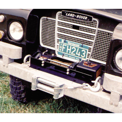 WINCH PLATE - WARN 8,9 & - X9 SUPERWNCH SER 2A & 3