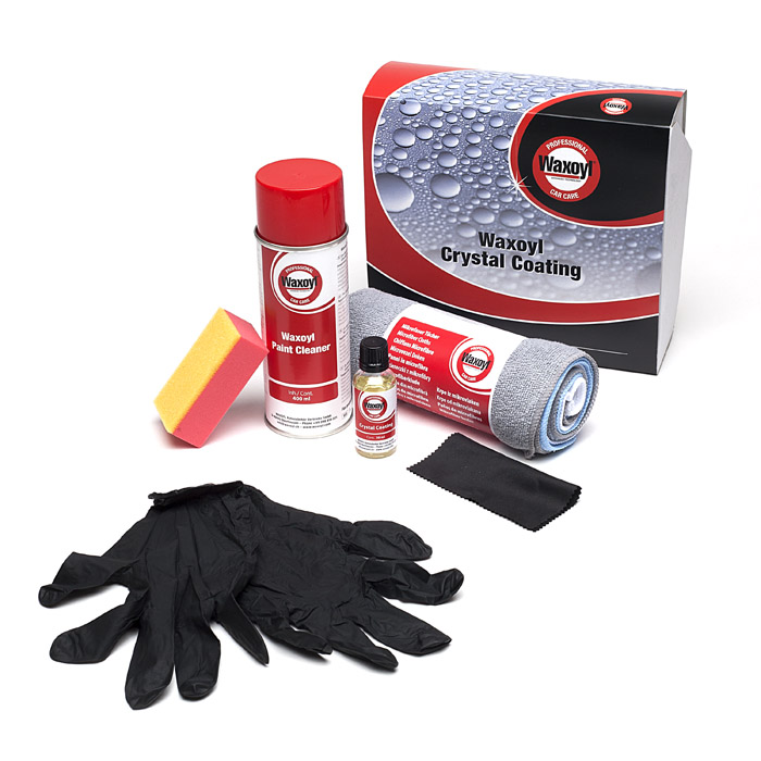 WAXOYL CRYSTAL COATING PAINT SEALANT KIT