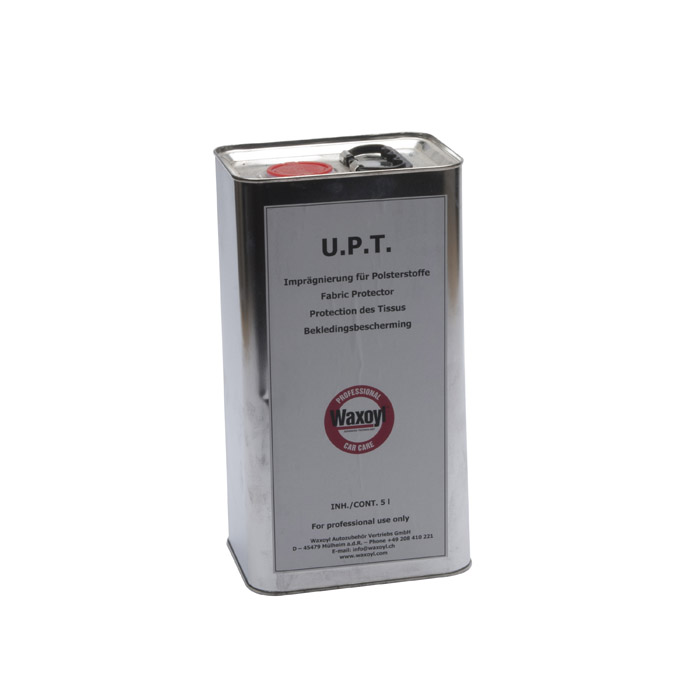 WAXOYL UPT FABRIC/LEATHER 5 LITER TIN