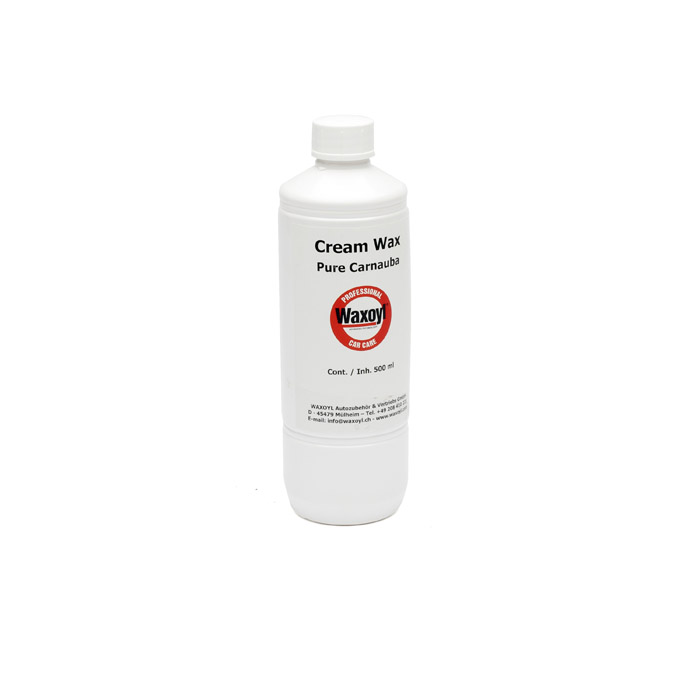 WAXOYL PURE CARNAUBA WAX 500ml BOTTLE