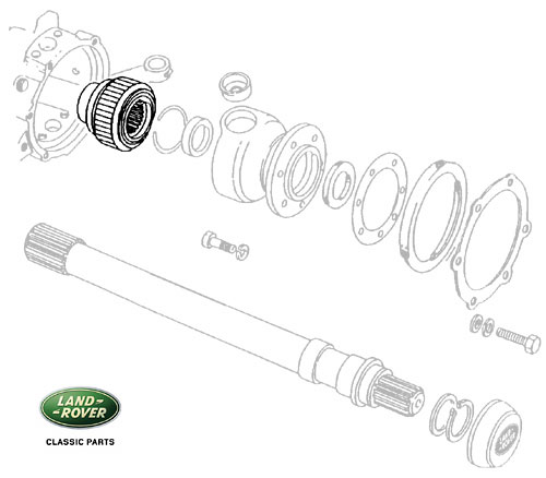 CV JOINT - RANGE ROVER CLASSIC w/ABS