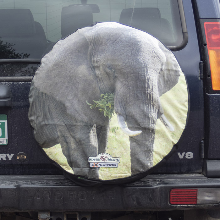 TIRE COVER ELEPHANT FULL COLOR LARGE