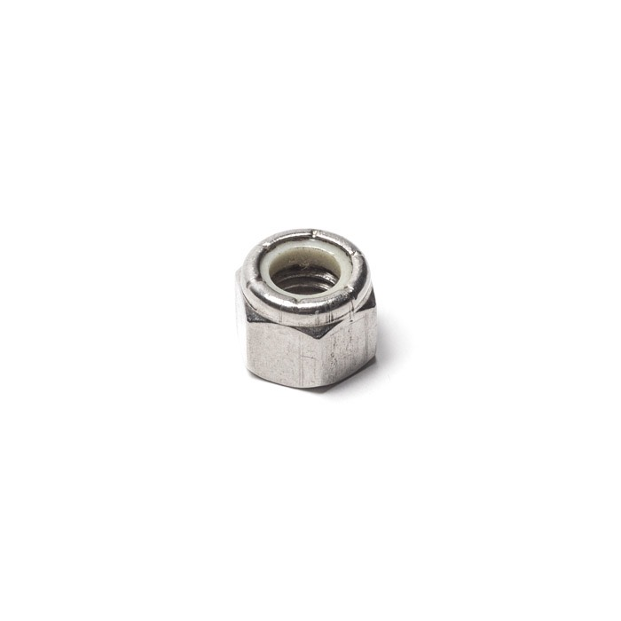 NYLOC NUT STAINLESS STEEL FOR SOUTHDOWN AXLE OR STEERING GUARD