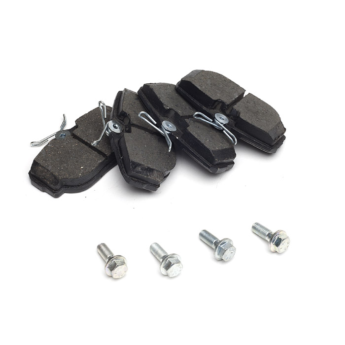 BRAKE PADS, REAR AXLE SET, RANGE ROVER P38A & DISCOVERY II