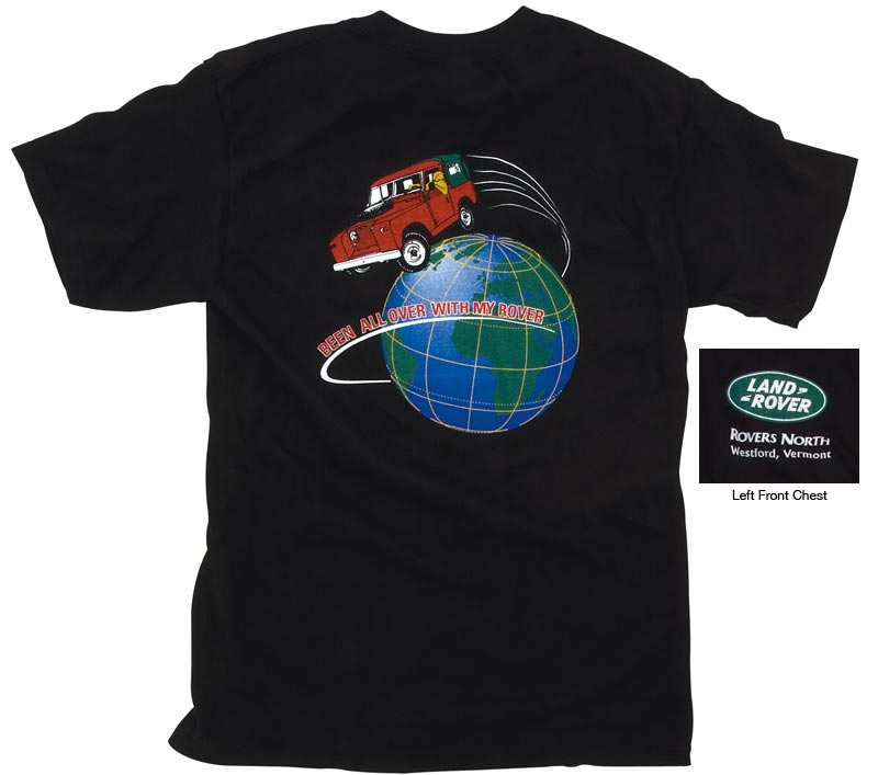 BEEN ALL OVER T-SHIRT - BLACK LARGE