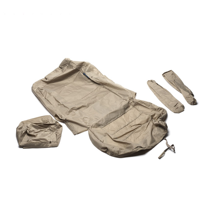 SEAT COVER SET FRONT PAIR LR4 ALMOND W/ DVD SYSTEM
