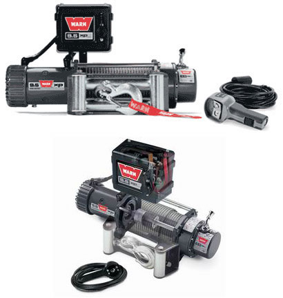 WINCH WARN 9,500 LB EXTREME PERFORMANCE