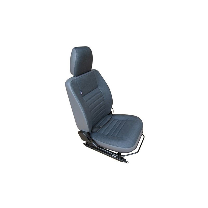 CLASSIC DEFENDER HEATED FRONT SEATS - DENIM TWILL VINYL